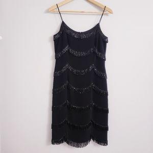 Niteline by Della Roufogau Beaded Dress